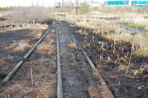 Рекультивация земель нарушенных при строительстве линейных сооружений
