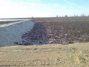 Рекультивация нарушенных земель технический этап