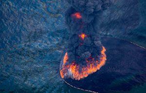Расчет экологического ущерба от горения нефти