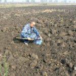 Отбор проб почвы для химического анализа